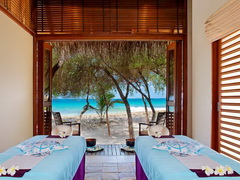 Курорт в отеле Sheraton Maldives Full Moon