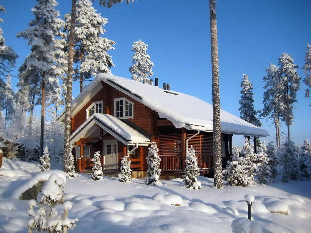 Новый год 2017 в финляндии коттеджи